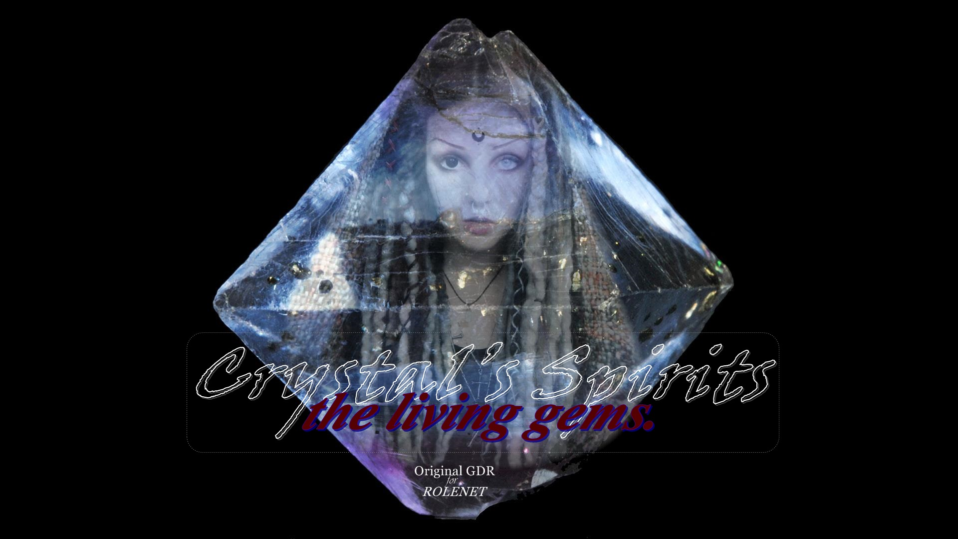 Crystal's spirits -  the living gems. gdr